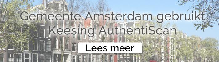 Keesing Technologies Gemeente Amsterdam