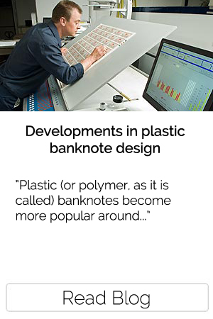Developments in plastic banknote design