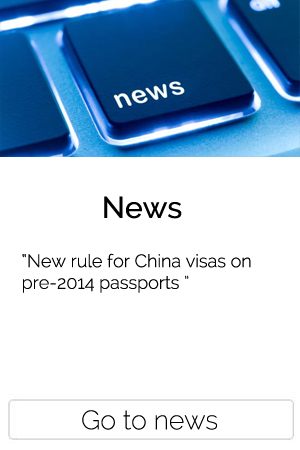 New rule for China visas on pre-2014 passports
